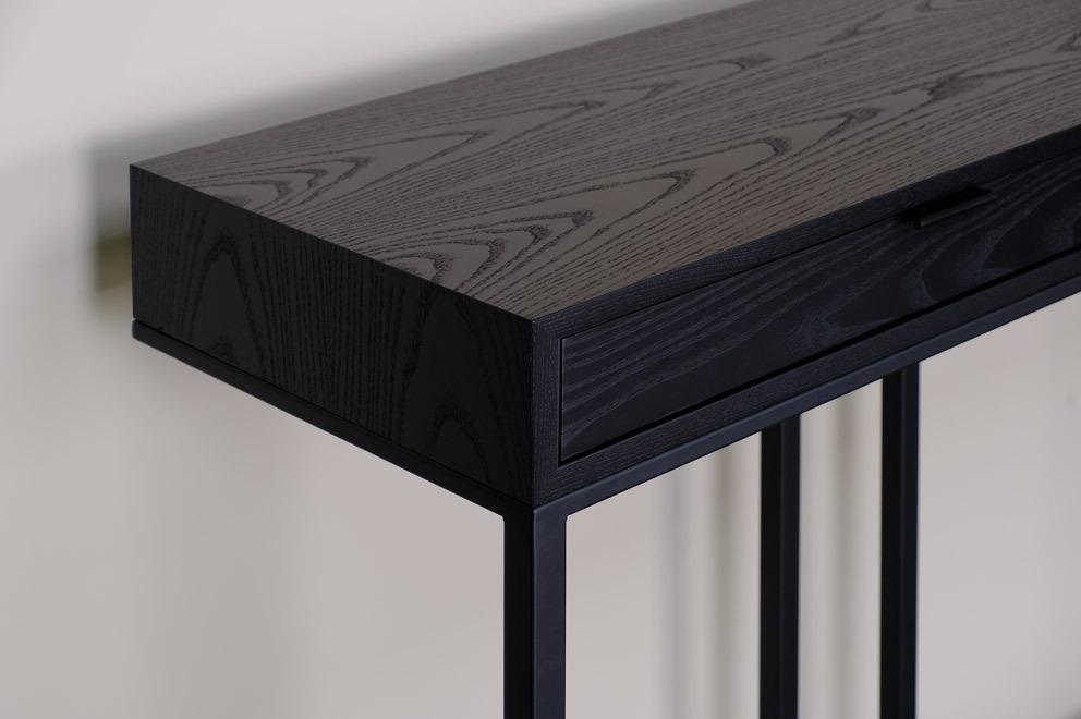Skram Furniture Company / Wishbone 2-drawer High Table
